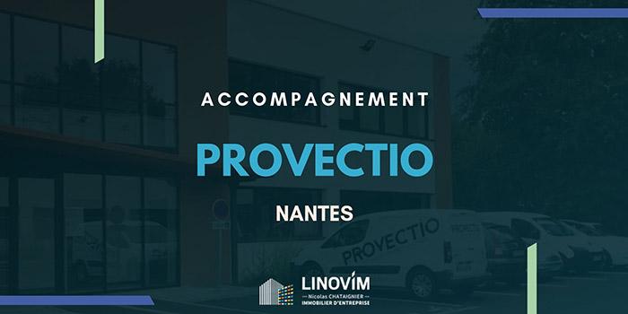 Accompagnement de la société Provectio à Nantes