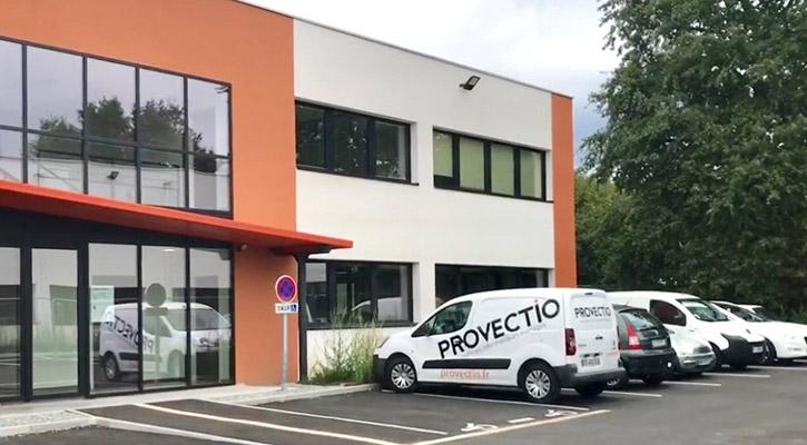 Locaux de l'entreprise Provectio à Nantes