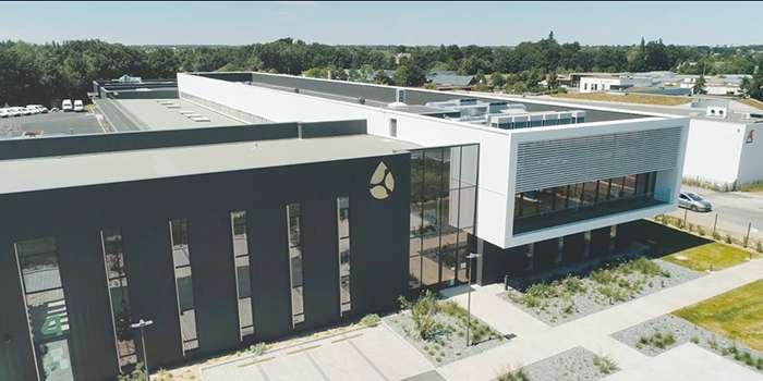 Nouveau siège de l'entreprise Altenov à Betton en Ille-et-Vilaine